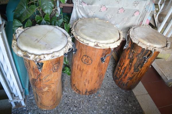 Pferdefell Für Drums unrasiert Über 100cm